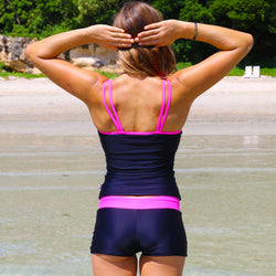 Women's Mix n Match Tankini Hot Pants