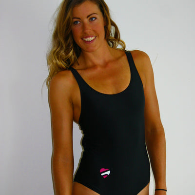 Women's One Piece Black