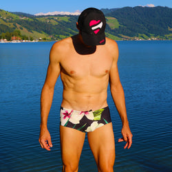 Men's Trunks Hibiscus