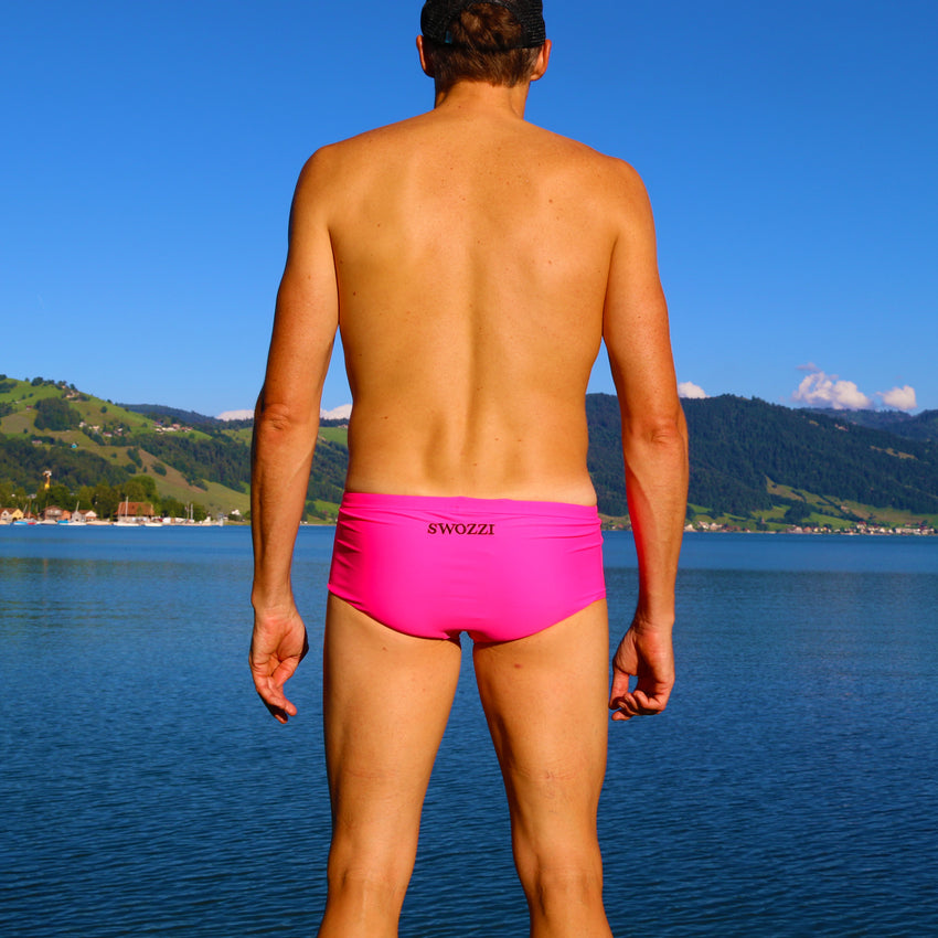 Men's Trunks Pink Neon