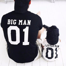 Little Man/Big Man Dad and Son T-Shirts