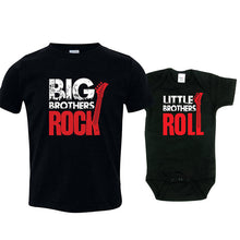 Big Brothers Rock/Little Brothers Roll T-Shirt and Bodysuit