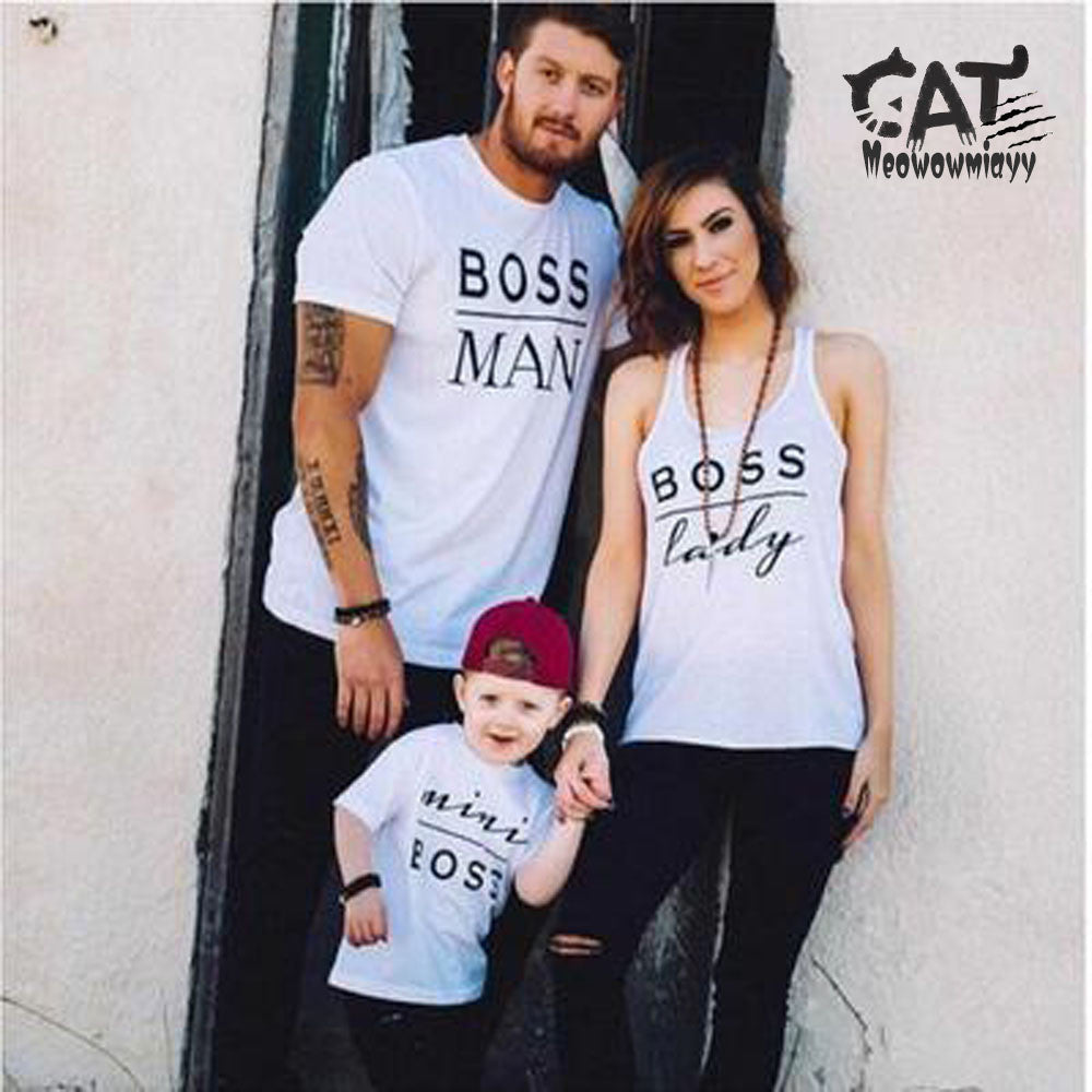 Boss Family T-Shirts