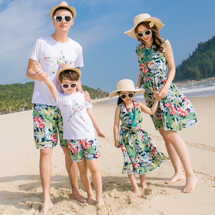 Aloha Family Dress and Shorts Collection