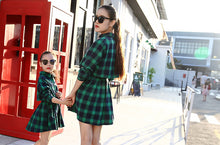 Plaid Chic Mother and Daughter Dress (Various Colors)