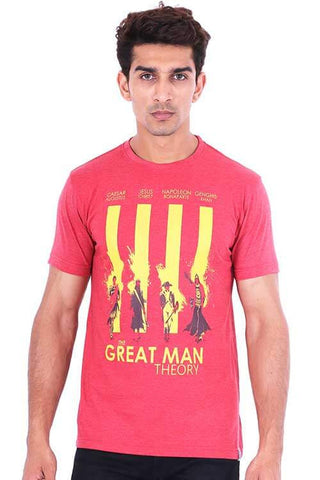 Men's The Great Man Theory T-shirt