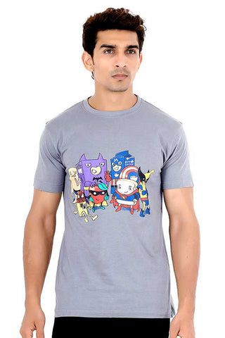 Men's Heroic Breakfast T-shirt