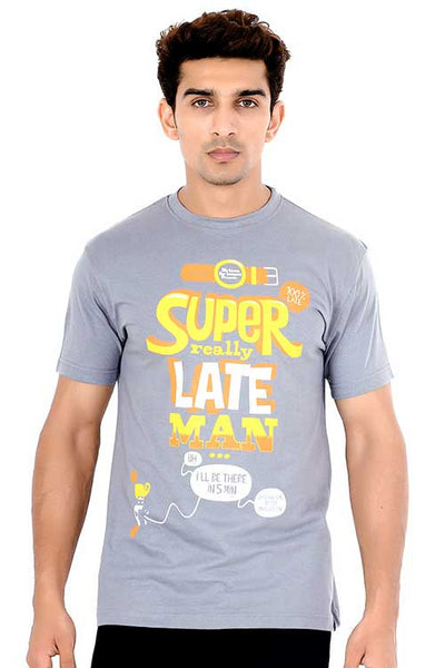 Men's Super really late man T-shirt