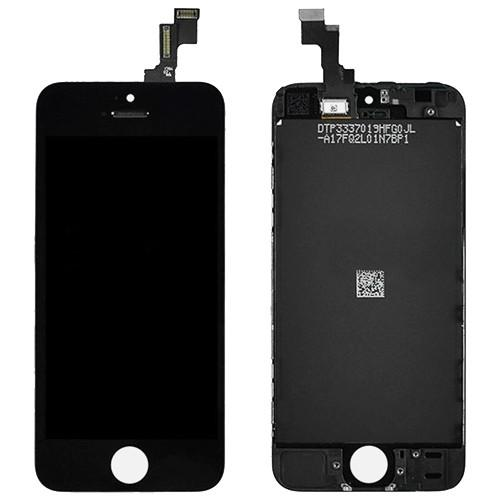 iPhone 5S LCD Screen - Black (Premium Grade)