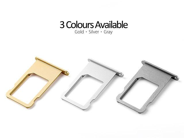 iPhone 7+ Plus Sim Card Tray - Black, Silver, Gold