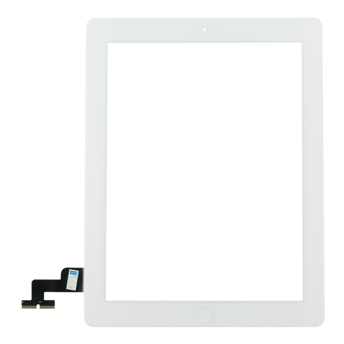 iPad 2 Screen (White) - Glass Digitizer