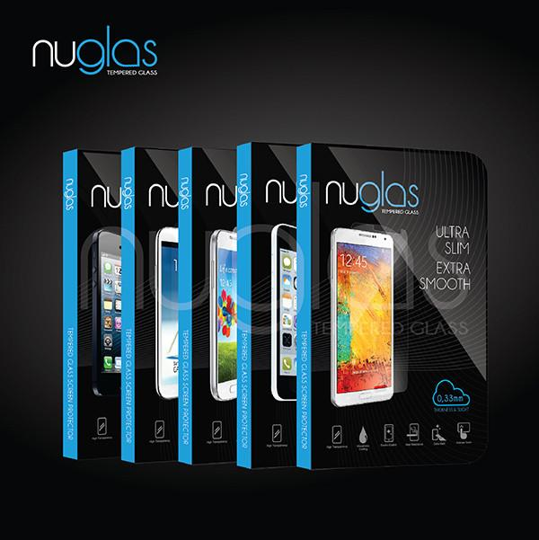 Nuglas Tempered Glass, iPhone 6+ Plus/ 6S+ Plus - Retail Packaging