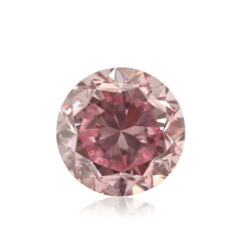 Fancy Intense Pink/SI1 diamant på 0,80 carat