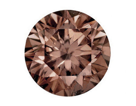 Champagne diamant: 0,10 carat, Honney Brown, VS-SI, EX/VG