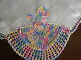 Vintage Crocheted Southern Belle Handkerchief - The Pink Rose Cottage
