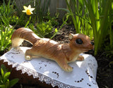 Vintage Squirrel Figurine Tree Climber - The Pink Rose Cottage