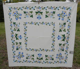 MWT Vintage Garden State House of Prints Americana Tablecloth - The Pink Rose Cottage