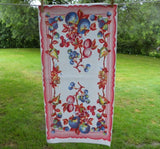 Vintage Colorful Fruit Tea Kitchen Towel - The Pink Rose Cottage