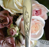 "Vintage Carlton Silver Plate ""Cherie"" Serving Fork - The Pink Rose Cottage"