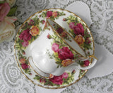 Royal Albert Old Country Roses Teacup and Saucer - The Pink Rose Cottage