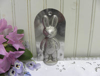 Vintage Easter Bunny Chocolate Candy Mold - The Pink Rose Cottage
