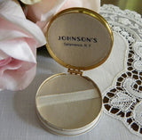Vintage Compact Johnson's Department Store Jewelry Presentation Box - The Pink Rose Cottage