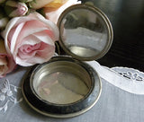 Vintage Compact Golden Gate Int'l Exposition 1939 Art Deco - The Pink Rose Cottage
