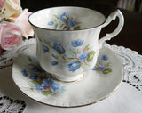Vintage Paragon Bluebell Teacup and Saucer - The Pink Rose Cottage