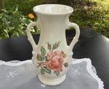 Vintage Royal Copley Pink Rose Vase - The Pink Rose Cottage
