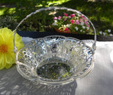 Vintage Round Silver Plate Bonbon Basket or Trinket Dish - The Pink Rose Cottage