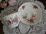 Vintage Pink Rose Teacup and Saucer - The Pink Rose Cottage