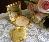 Estee Lauder Purse Strings Powder Compact MIB - The Pink Rose Cottage