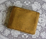 Vintage Gold Mesh Ladies Wallet and Coin Purse - The Pink Rose Cottage