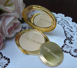 Estee Lauder Hats Off Powder Compact MIB - The Pink Rose Cottage