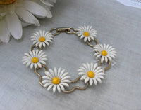 Vintage Daisy Chain Bracelet - The Pink Rose Cottage