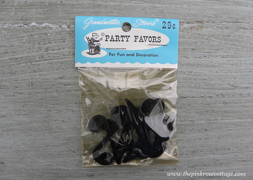 Vintage Grandmother Stover's Party Favors Musical Notes Miniatures NIP