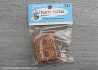 Vintage Grandmother Stover's Party Favors Websters Dictionary Miniatures Dollhouse NIP