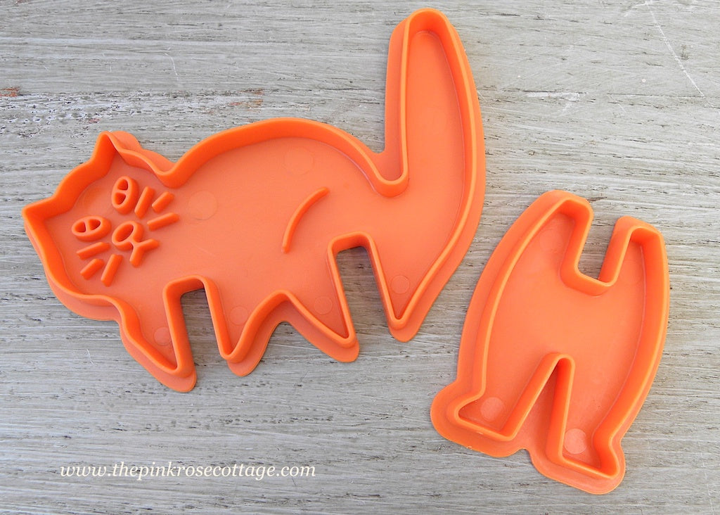 Nordic Ware 3D Halloween Black Cat Cookie Cutter - The Pink Rose Cottage