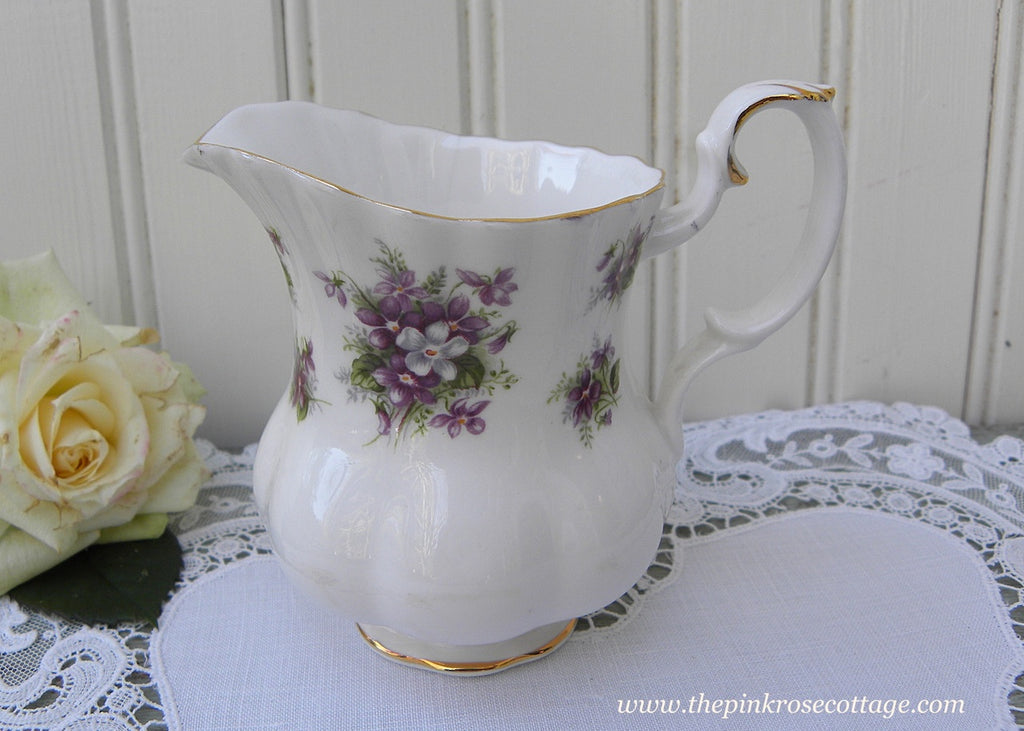 Vintage Royal Albert Sweet Violets Creamer