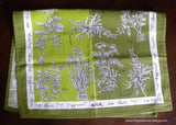 New Vintage Style Vera Neumann Crate & Barrel Herb Kitchen Tea Towel