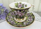 "Vintage Royal Albert Provincial Flowers ""Purple Violet"" Teacup and Saucer"