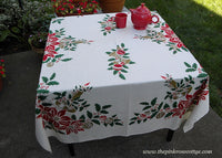 Vintage MWT Garden State Tablecloth