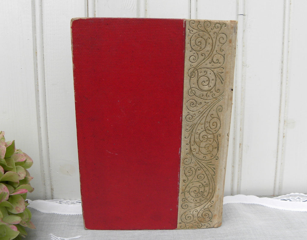 1892 Antique Hawthornes The Scarlet Letter Hard Cover Book