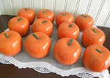 Set of 12 Fall Autumn Decor Wooden Pumpkins - The Pink Rose Cottage