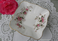 Vintage Royal Albert Candy or Trinket Dish Lavender Rose