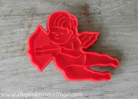 Vintage Hallmark Cupid Valentines Red Cookie Cutter