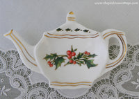 A Cup of Christmas Tea Teabag Holder by Warren Hanson