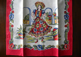 MWT Pair of Superior Quality Mexican Tea Towels Man and Woman