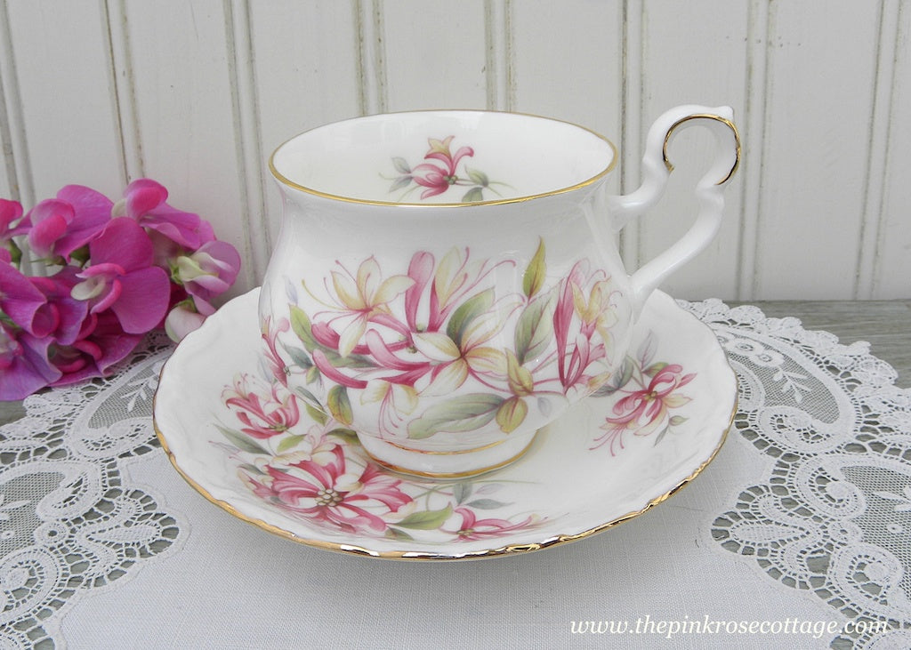 Vintage Royal Albert Sonnet Series Chaucer Teacup and Saucer