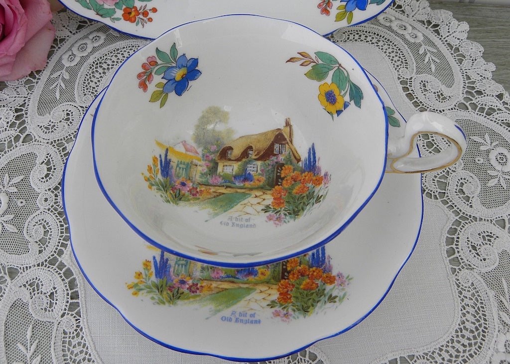 Antique Royal Albert Crown China A Bit Of Old England